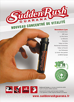 Suddenrush Guarana un concentr� de vitalit�