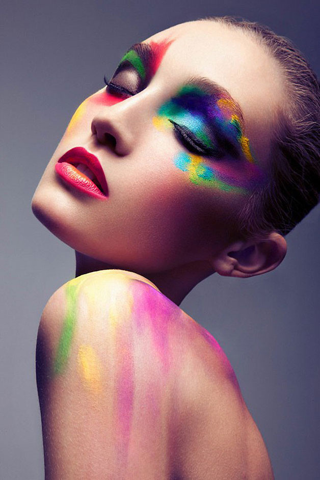 Makeup art graphic inspiration Fashion style and make up